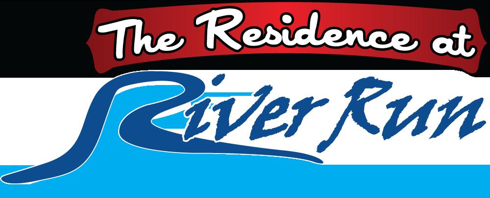 The Residence at River Run logo